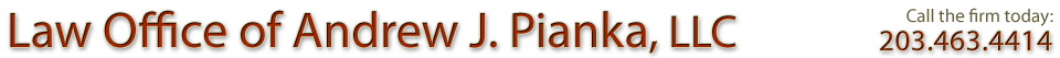 Law Office of Andrew J. Pianka, LLC logo