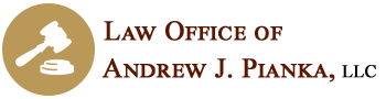 Law Office of Andrew J. Pianka, LLC Header Logo